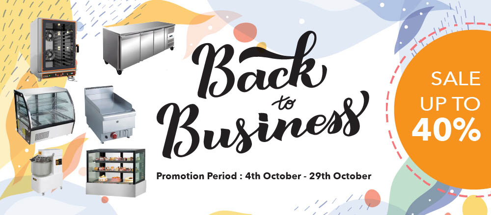 Back to Business Sale
