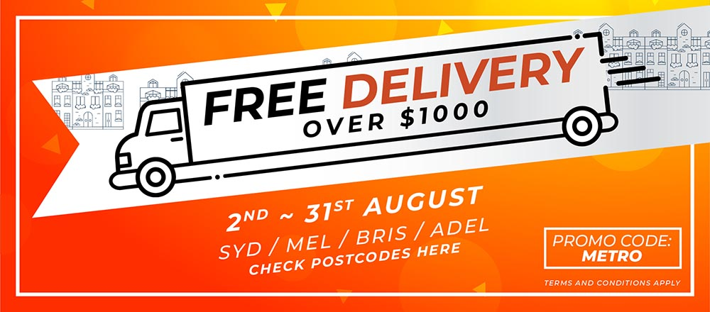 Free Delivery this August