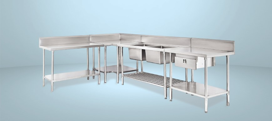 304 Grade Stainless Steel - Best Value Stainless Steel Tables and Sind Benches Found at F.E.D