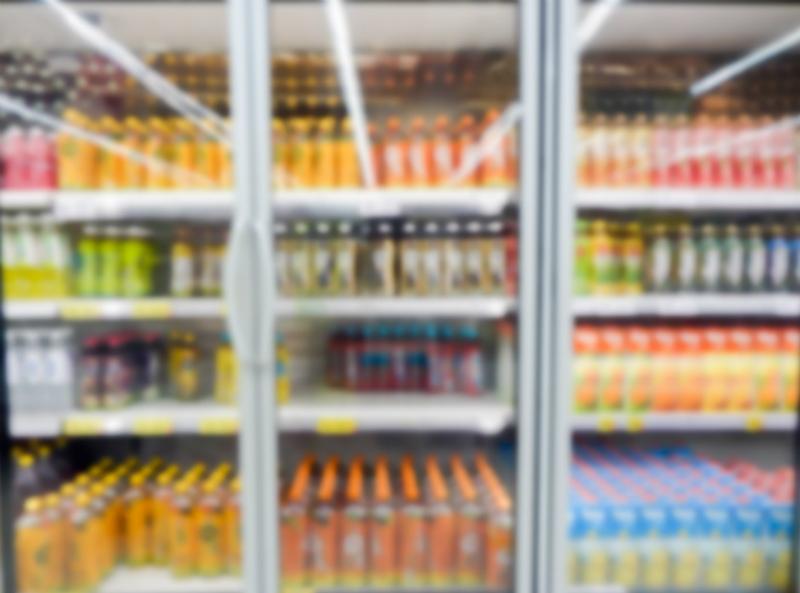 commercial beverage fridge