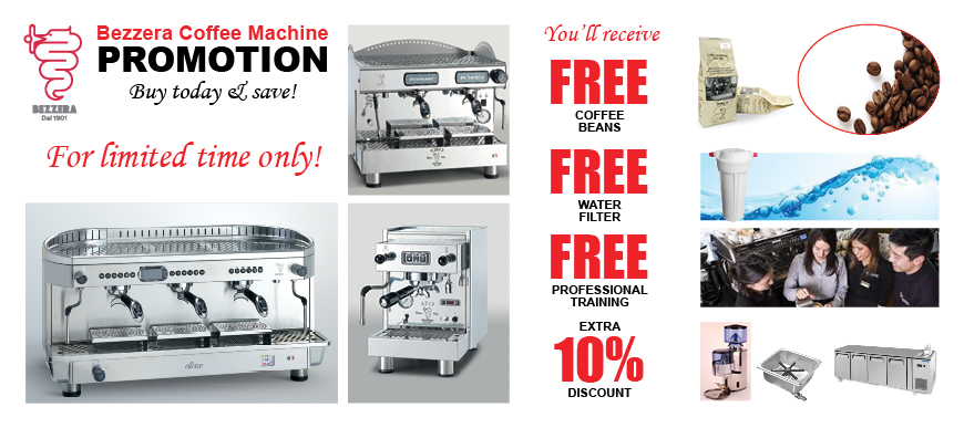 Bezzera Espresso Machine Sale