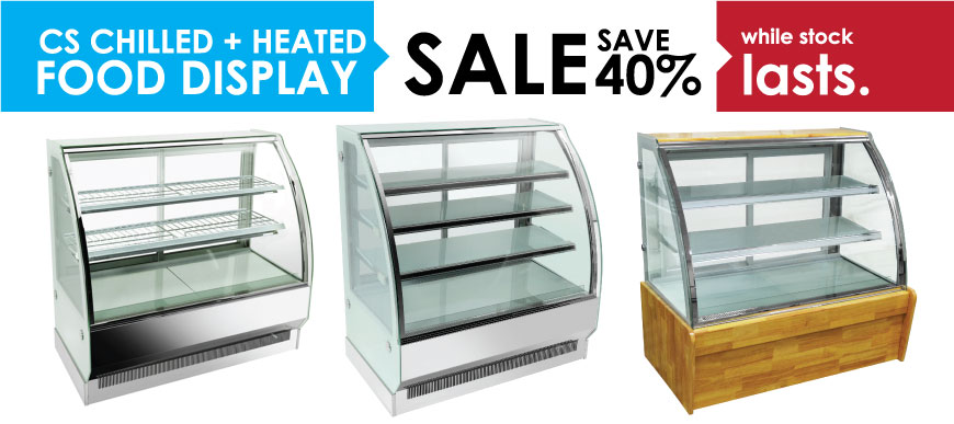 CS Range Chilled & Heated Food Display