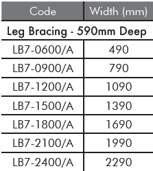 LB7 Leg Bracing