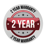 2 year warranty at F.E.D.